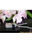 Clé USB bijoux avec pierres précieuses de cristal (quartz), 64 go